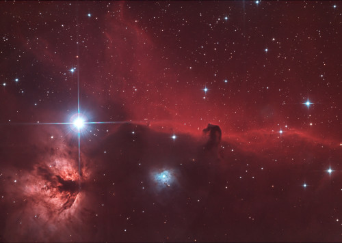 Pferdekopfnebel - IC434