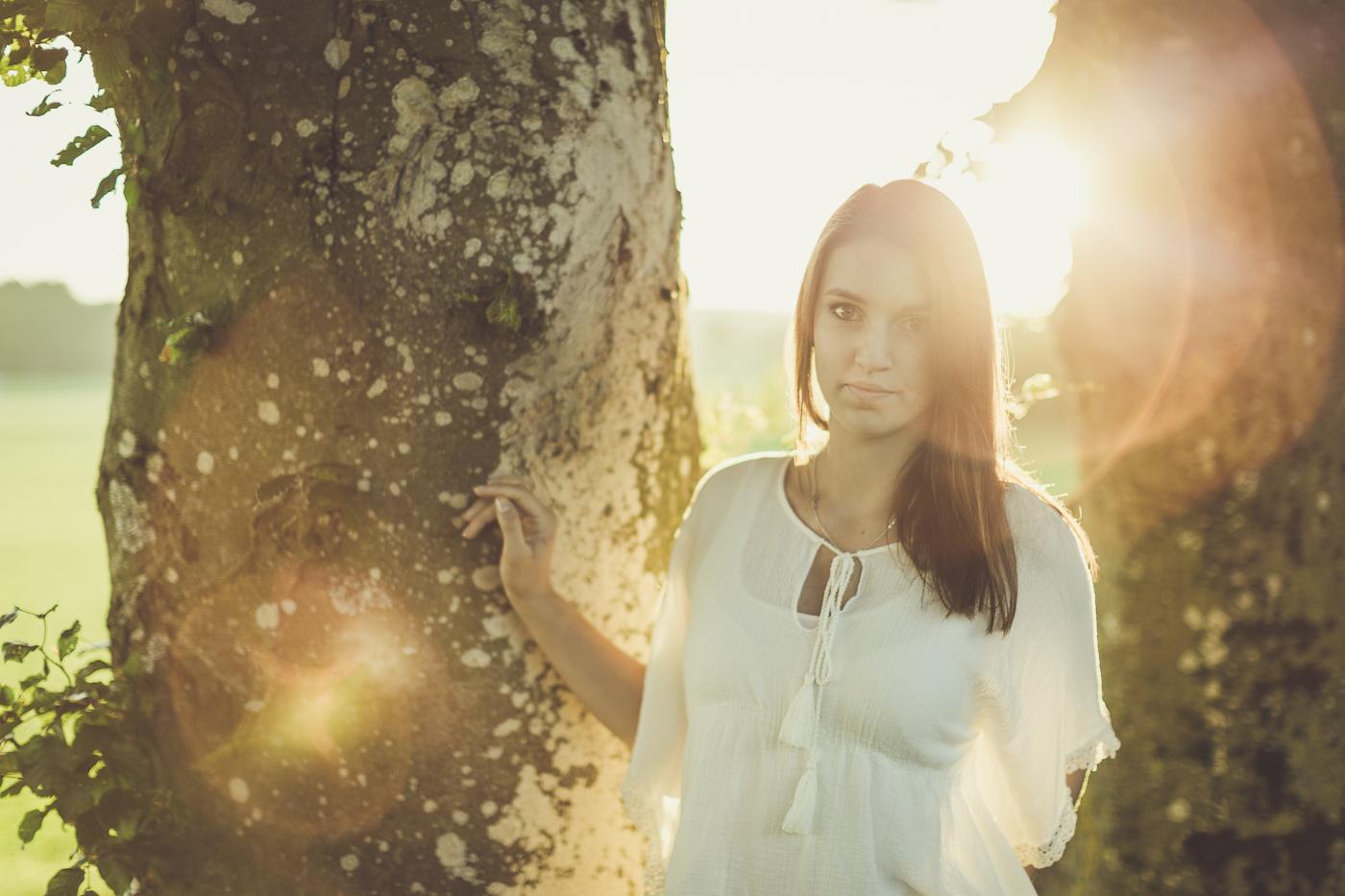 Outdoor-Shooting mit Anna